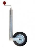 Опорное колесо, статичекая нагр. 150 кг, динамич. нагр. 90 кг, диск стальной