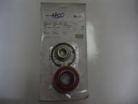 Комплект (подшипник+гайка цапфы+стопорное кольцо) оси 1800кг.