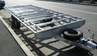 "Прицеп-платформа ""Сантей"" для вагончика, домика, фургона и др."